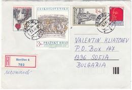 CSSR-64/1984 - 10.00 Kcs. - Alte Kostueme, Lenin, Lidice, Prazsky Hrad, R-letter - Tchécoslovaquie