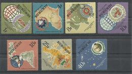 BURUNDI YVERT 161/67   MNH  ** - Burundi