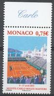 TIMBRE - MONACO - 2011 - Nr 2772 -  - Neuf - Monaco