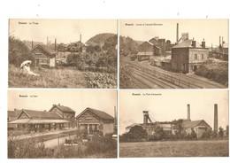 (G200) RESSAIX - Chardonnage, Triage, Gare, Puits D'extraction , Lavoir, Centrale électrique, Rues... - Binche