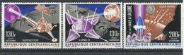 CENTROAFRICANA   YVERT  AEREO  39/41   MNH  ** - República Centroafricana