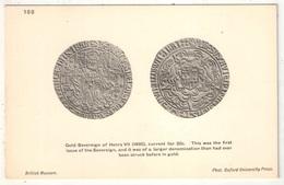 Coin - Gold Sovereign Of Henry VII - British Museum - Oxford University Press 188 - Monnaies (représentations)