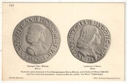 Coins - Portrait Coins Of Giangaleazzo Maria Sforza - British Museum - Oxford University Press 197 - Monnaies (représentations)