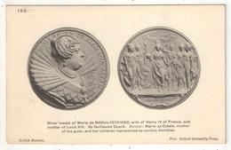 Silver Medal Of Marie De Medicis - British Museum - Oxford University Press 190 - Monnaies (représentations)