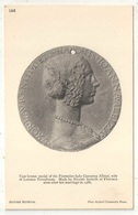 Cast Bronze Medal Of The Florentine Lady Giovanna Albizzi - British Museum - Oxford University Press 195 - Monnaies (représentations)