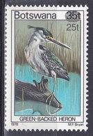 Botswana 1981 Tiere Fauna Animals Vögel Birds Oiseaux Ave Uccelli Mangrovenreiher Reiher Egrets Herons, Mi. 281 ** - Botswana (1966-...)