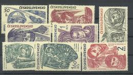 CHECOSLOVAQUIA  YVERT  1131/38  MNH  ** - Checoslovaquia