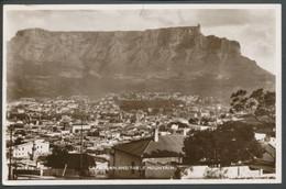 Ansichtskarte -Afrika -  Capetown  And Table Mountain - Südafrika