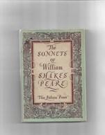 Livre Ancien 1948  The Sonnets Of William Shakespeare - Poésie