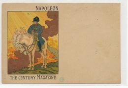 Superbe Carte Art Nouveau Serie Cinos 1900  Napoleon Signée Jules Cheret Né à Nice .  The Century Magazine - Ajaccio