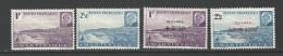 "Martinique YT 189 190 196 197 "" Série Pétain ""1941-44 Neuf** - Neufs"