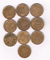50 CENTS 10 X ZUID AFRICA /4922/ - Afrique Du Sud