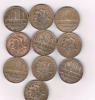 10 FRANCS 10 X FRANRIJK /4924/ - France
