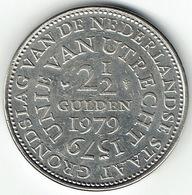 The Netherlands 1979, 2½ Gulden, 400th Anniversary Of The Union Of Utrecht - [ 3] 1815-… : Koninkrijk Der Nederlanden