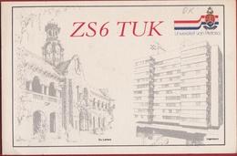 QSL Card Amateur Radio Funkkarte ZS6 TUK Zuid-Afrika South Africa Universiteit Van Pretoria - Radio Amatoriale