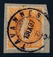 """HELVETIA - Mi Nr 58 A - Cachet """"TAVANNES"""" - (ref. 1442) - Gebruikt"""