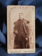 Photo CDV Jean Pernelle à Epinal - Militaire Du 152e D'infanterie Circa 1890 L450 - Photographs