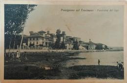 PASSIGNANO SUL TRASIMENO PANORAMA COL LAGO VG AUTENTICA 100% - Perugia