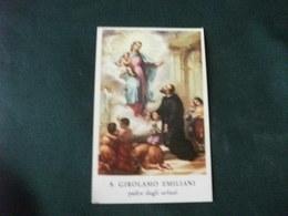 SANTINO HOLY PICTURE IMAGE SAINTE SAN GIROLAMO EMILIANI PADRE DEGLI ORFANI - Religione & Esoterismo