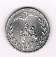 1 DINAR 1972 ALGERIJE /4938/ - Algérie