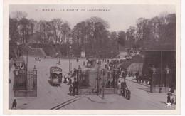 29  Finistère -  BREST -  La Porte De Landerneau - Tramway - Brest