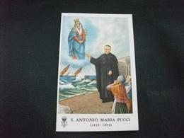 SANTINO HOLY PICTURE IMAGE SAINTE SANT' ANTONIO MARIA PUCCI PREGHIERA - Religione & Esoterismo