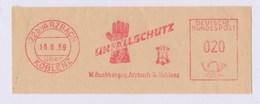 BRD AFS - ARZBACH über KOBLENZ, Unfallschutz - W. Buchberger 16.6.59 - Unfälle Und Verkehrssicherheit