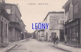 CPA De GEMOZAC  (17) -  ROUTE De PONS - ANIMATIONS - COMMERCE LEROYER - édit LE GUIASTRENNEC - Andere Gemeenten