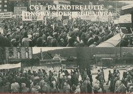 013 - POLITIQUE - GREVES -  CGT PAR NOTRE LUTTE LONGWY SIDERURGIE VIVRA 19.12.78 - Syndicats
