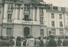 014 - POLITIQUE - GREVES - CGT PAR NOTRE LUTTE LONGWY SIDERURGIE VIVRA  22.12.78 - Syndicats