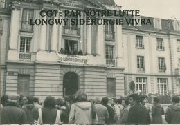 014 - POLITIQUE - GREVES - CGT PAR NOTRE LUTTE LONGWY SIDERURGIE VIVRA  22.12.78 - Gewerkschaften