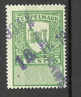 ESTLAND Estonia Ca 1930 Revenue Tax Documentary Stempelmarke 3 Senti O - Estland