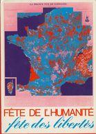 023 - POLITIQUE - FÊTE DE L'HUMANITE - FÊTE DES LIBERTES La Courneuve 8-9 Septembre 1979 - Syndicats