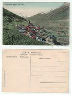 Suisse // Schweiz // Uri //  Hospenthal Gegen Di Furka - UR Uri