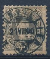 """HELVETIA - Mi Nr 61 YC - Cachet  """"RECONVILLIER"""" - (ref. 1464) - Gebraucht"""
