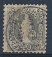 "HELVETIA - Mi Nr 61 YC - Cachet  ""RAPPERSWIL"" - (ref. 1465) - Gebraucht"