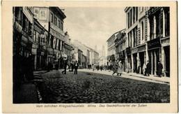 Lituanie Lituania Wilna Vom Ostlichen Kriegsschauplatz Das Geschaftsviertel Der Juden Judaïca - Lituanie