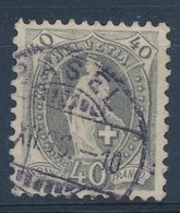 "HELVETIA - Mi Nr 61 YC - Cachet  ""BASEL"" - (ref. 1466) - Gebraucht"