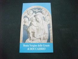 SANTINO HOLY PICTURE IMAGE SAINTE  BEATA VERGINE DELLE GRAZIE DI BOCCADIRIO BARAGAZZA (BO) - Religione & Esoterismo