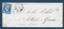 Oise - P.C.  2223 Et Cachet Type 15  NANTEUIL LE HAUDOUIN - Marcophilie (Lettres)