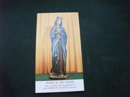 SANTINO HOLY PICTURE IMAGE SAINTE  MARIA SS. DEI DOLORI - Religione & Esoterismo