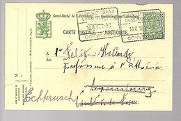 1917 Train Cancel KLEINBETTINGEN!! CONVOYAGE (558) - Postwaardestukken