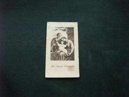 SANTINO HOLY PICTURE IMAGE SAINTE  LA SACRA FAMIGLIA - Religione & Esoterismo
