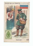 CREME ECLIPSE CIRAGE A LA CIRE SCHOENKREEM COLLECTION LA POSTE RUSSIE N° 19 - Trade Cards
