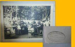 TOULON, Photo Albert, Fête Ou Restaurant 13x18  ; Foto01 - Photos