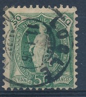 "HELVETIA - Mi Nr 69 C - Cachet  ""LOCLE"" - Cote 50,00 € - (ref. 1473) - Gebraucht"
