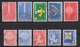(1) Schweiz / Switzerland - 20 Used Stamps From The Years 1957-1966 - See 2 Scans - Switzerland