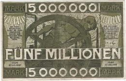 Alemania (NOTGELD) - Germany 5.000.000 Mark 21-8-1923 Dusseldorf Ref 3 - [11] Emisiones Locales