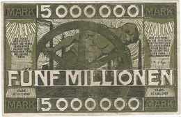 Alemania (NOTGELD) - Germany 5.000.000 Mark 21-8-1923 Dusseldorf Ref 3477-2 - [11] Emisiones Locales