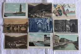 LOTTO 135 CARTOLINE DI FIRENZE, VIAREGGIO, MONTECATINI TUTTE FORMATO PICCOLO VIAGGIATE E NON - Postales
